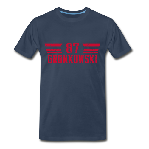gronkred - Men's Premium T-Shirt