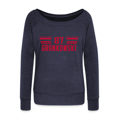 gronkred - Women's Wideneck Sweatshirt
