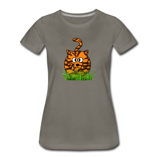 Tiger named Enzo - Women's Premium T-Shirt