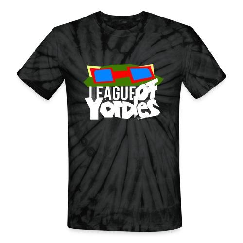 League of Yordles™ Official Tie Dye Tee (VI PINK) [Unisex] - Unisex Tie Dye T-Shirt