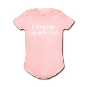 Baby Dad - Short Sleeve Baby Bodysuit