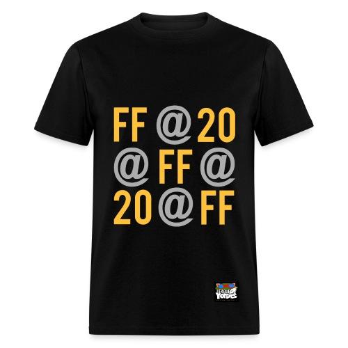 League of Yordles™ FF@20 Tee (GOLD EDITION) [Men's] - Men's T-Shirt