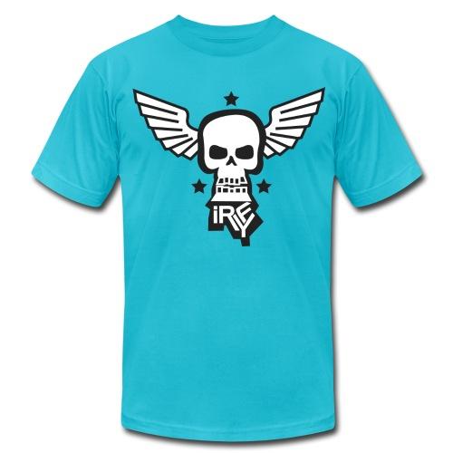 iRYF T Turquoise - Men's Fine Jersey T-Shirt