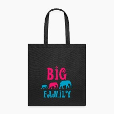 Big elephant family Bags & backpacks