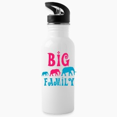 Big elephant family Mugs & Drinkware