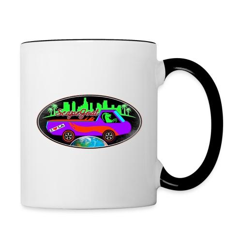 SCAPEGOAT Los Angeles - Contrast Coffee Mug