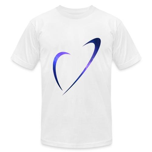 Galaxy logo T-shirt - Men's Fine Jersey T-Shirt