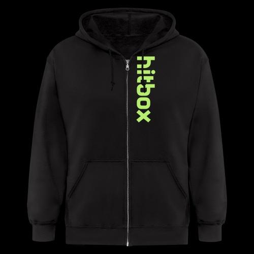zip hoodie green - Men's Zip Hoodie