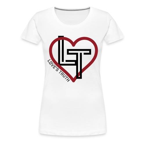 Women's Premium T-Shirt - Clean Logo - Women's Premium T-Shirt