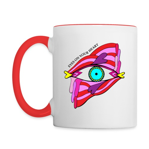 Special Edition Valentine Mug - Red - Contrast Coffee Mug