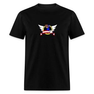 qwrt951 banner T's male - Men's T-Shirt