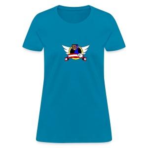 Qwrt951 banner T's Female - Women's T-Shirt