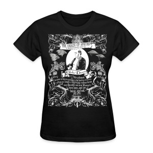 Charles Darwin Origin of Species t shirt - Women's T-Shirt