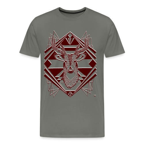 Men's Tee Grey - Men's Premium T-Shirt