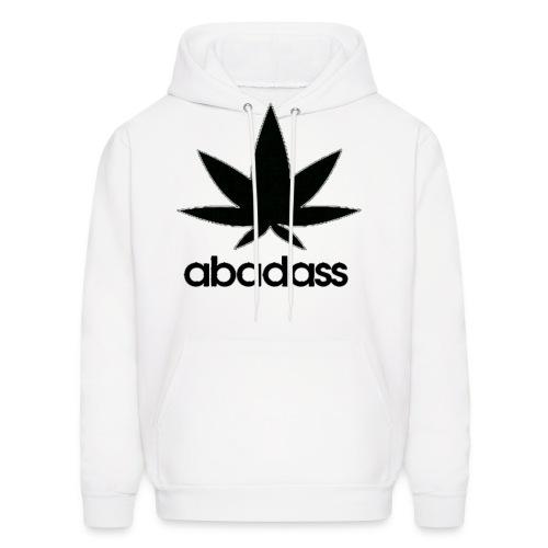 A Bad Ass Weed Hoodie - Men's Hoodie