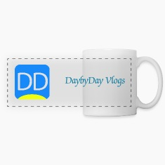 DaybyDay Logo Large Mugs & Drinkware