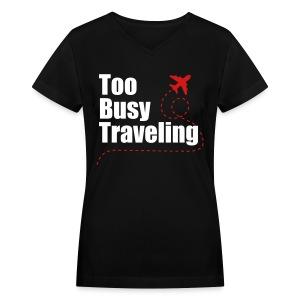 [WOMEN] V-Neck TBT  - Women's V-Neck T-Shirt