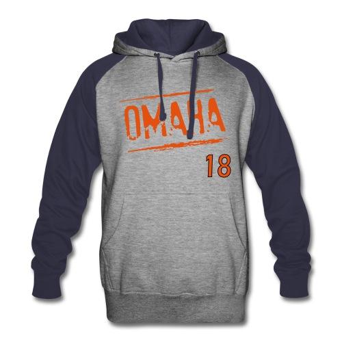 Omaha! Hoodie - Colorblock Hoodie