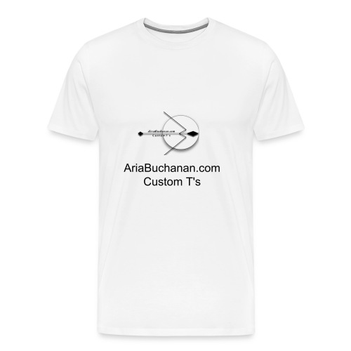 AriaBuchanan.com Icon logo - Men's Premium T-Shirt