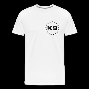 K9 Coalition Tee | White - Men's Premium T-Shirt