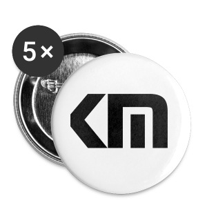 KnewMo Button Logo 5 in a pack - Large Buttons