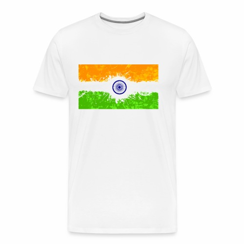 India Flag - Men's Premium T-Shirt