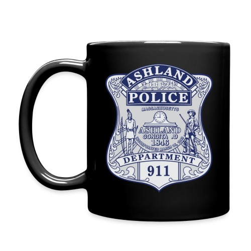Ashland Massachusetts Police Badge Mug - Full Color Mug