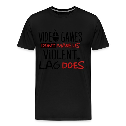 Baddazz Lag Tee - Men's Premium T-Shirt