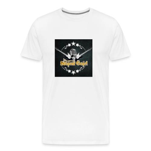 Men's t-shirt: SG logo on metal - Men's Premium T-Shirt