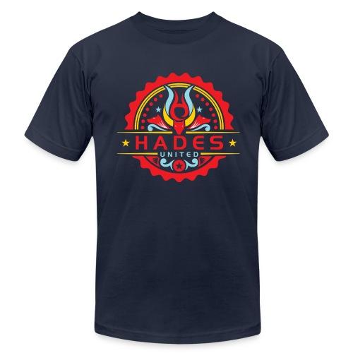 Caution: shirt might burn when jumping into volcano - Men's  Jersey T-Shirt
