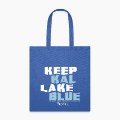 Keep Kal Lake Blue Tote Bag