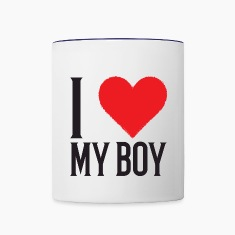 I Love My Boy Mug