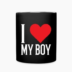 I Love My Boyfriend Mugs & Drinkware