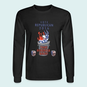 TAKE AMERICA BACK IN 2016 - Men's Long Sleeve T-Shirt