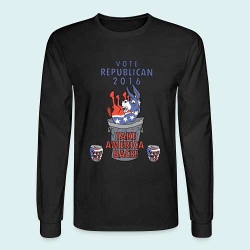 TAKE AMERICA BACK IN 2016 - Men's Long Sleeve T-Shirt