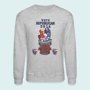 TAKE AMERICA BACK IN 2016 - Crewneck Sweatshirt