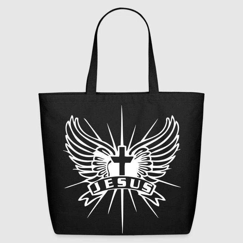 Jesus Emblem Bags & backpacks - Eco-Friendly Cotton Tote