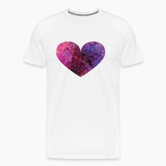 Polygon Heart Strokes T-Shirts