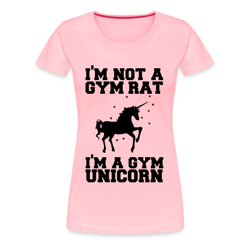 Gym Unicorn Tee - Women's Premium T-Shirt