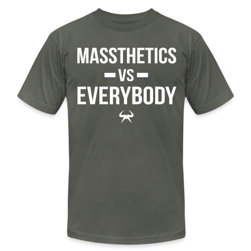 Massthetics vs Everybody - Men's Fine Jersey T-Shirt