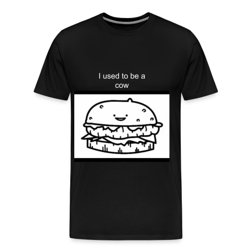 I used to be a cow - Men's Premium T-Shirt