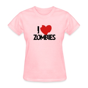 I Heart Zombies - Women's T-Shirt