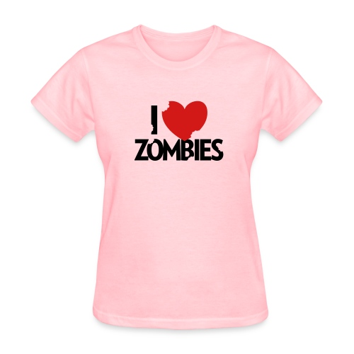 I Heart Zombies - Women's T-Shirt