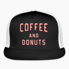 Coffee and Donuts Caps