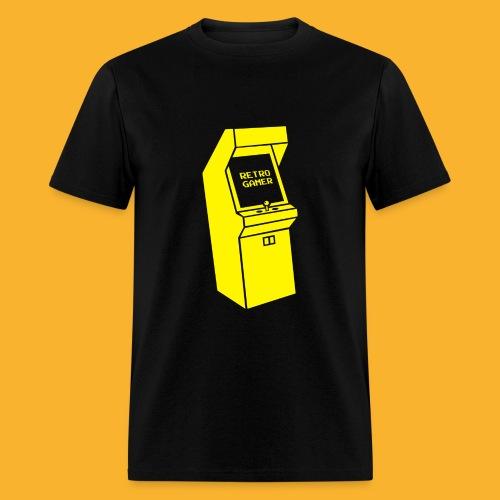 Retro Gamer Acade Machine Shirt - Men's T-Shirt