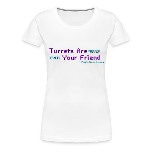 Turrets Women's Premium T-Shirt - Women's Premium T-Shirt