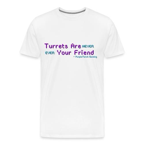 Turrets Men's Premium T-Shirt - Men's Premium T-Shirt