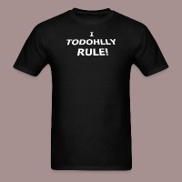 I Todohlly Rule - Men's T-Shirt