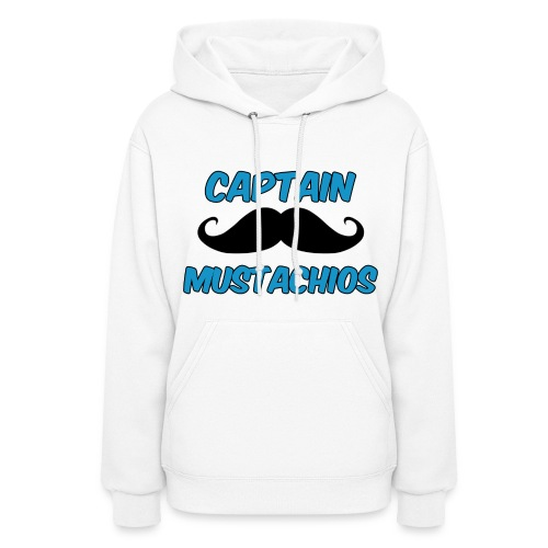 Captain Mustachios Women's Hoodie - Women's Hoodie