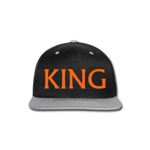 King Hat  - Snap-back Baseball Cap